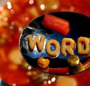 Alphabet soup.