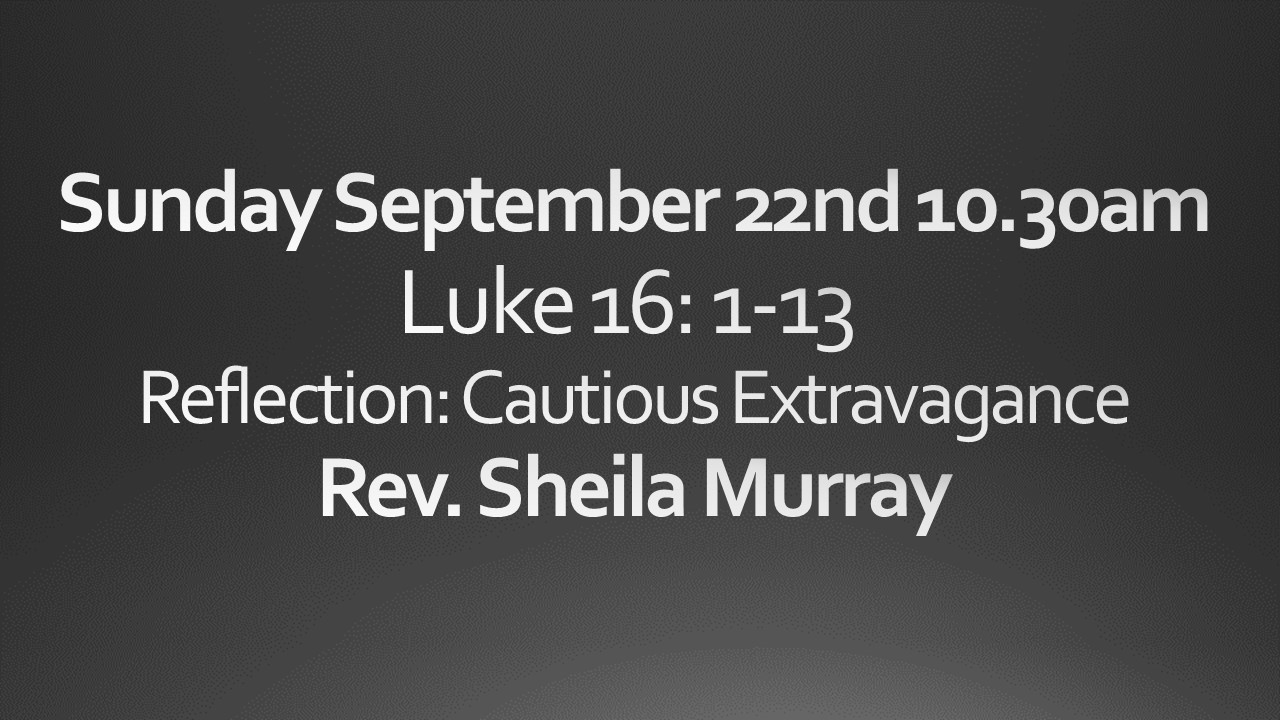 Sunday September 22nd 10:30 am Worship