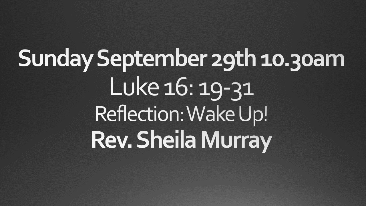 Sunday September 29th 10:30am Worship