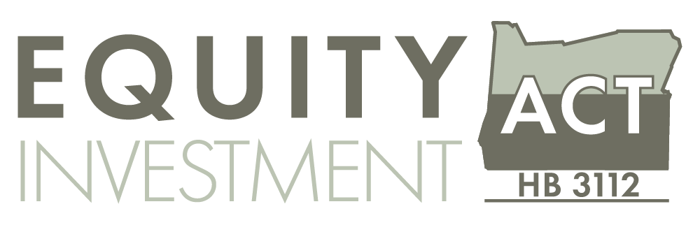 Equity Investment Act Oregon