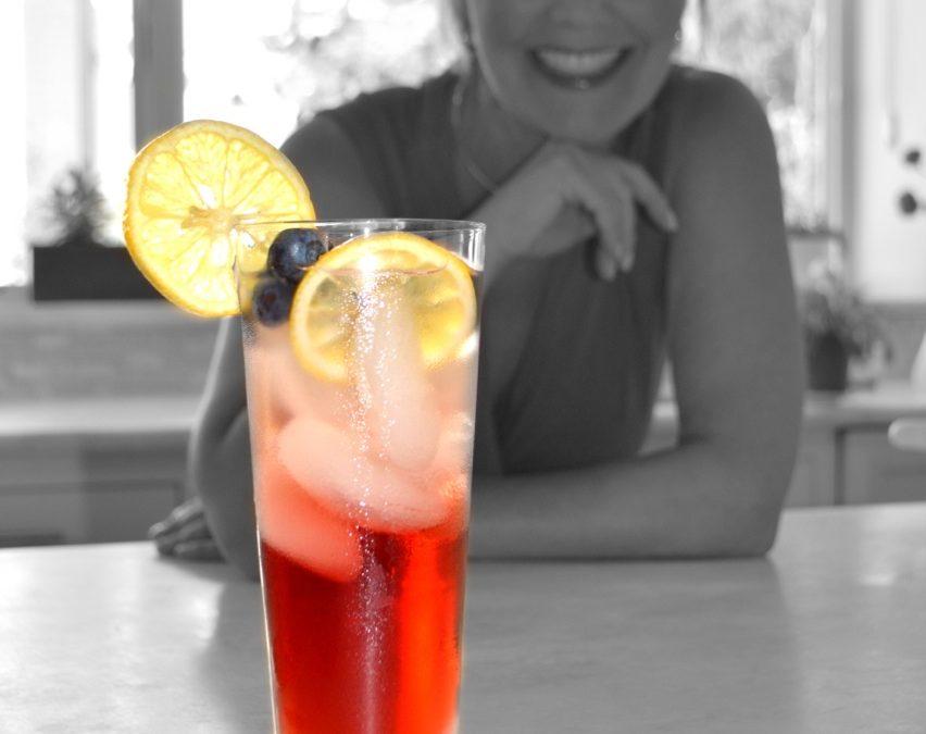 Happy Hour:  Blueberry Heaven