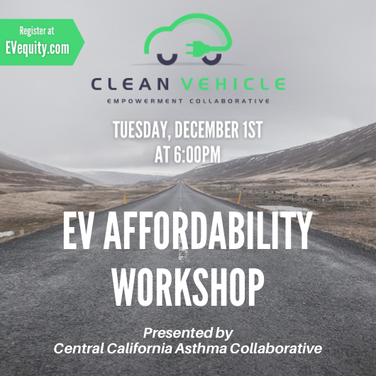 EV Affordability Workshop