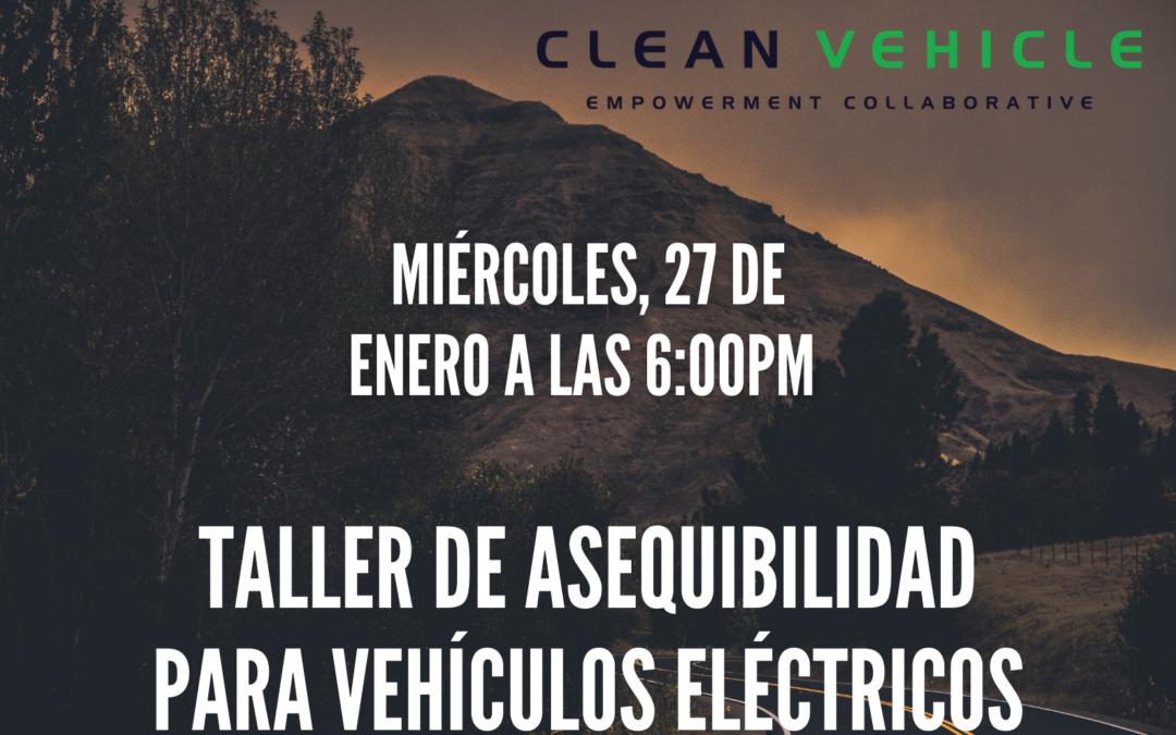 Taller de Asequibilidad para Vehículos Eléctricos presentado por CCEJN