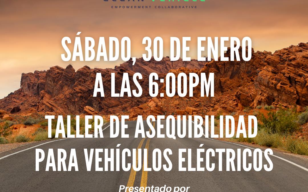 Taller de Asequibilidad para Vehículos Eléctricos presentado por CCAC