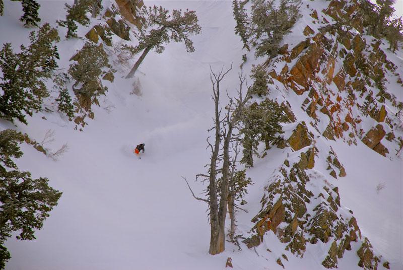 vertical integration, telemark skier magazine, tele, freeheellife, jt robinson, movies, skiing, powder, extreme, cliffs