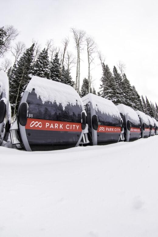Park City Mountain Resort Quicksilver Gondola