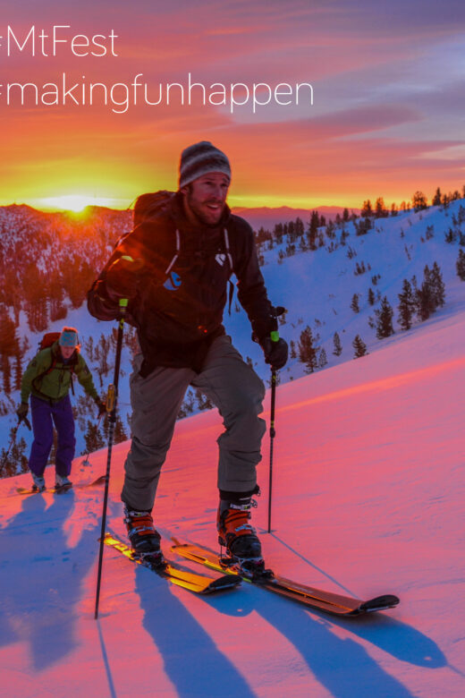 Alpenglow Mountain Festival Lake Tahoe Telemark