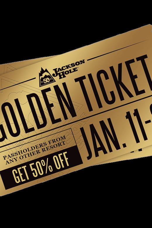 Jackson Hole telemark Golden Ticket