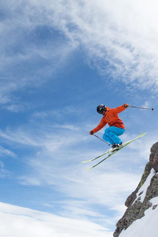 Erik Nordin Telemark Skier