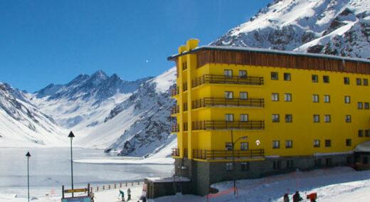 Portillo chile telemark ski