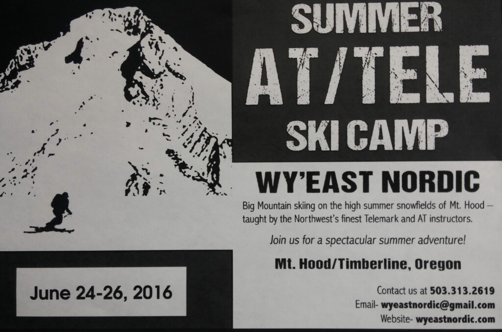 WY'East Telemark Camp