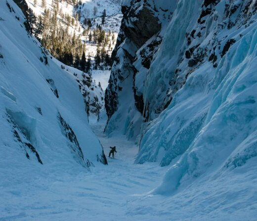 Loren Griswold Telemark Skier