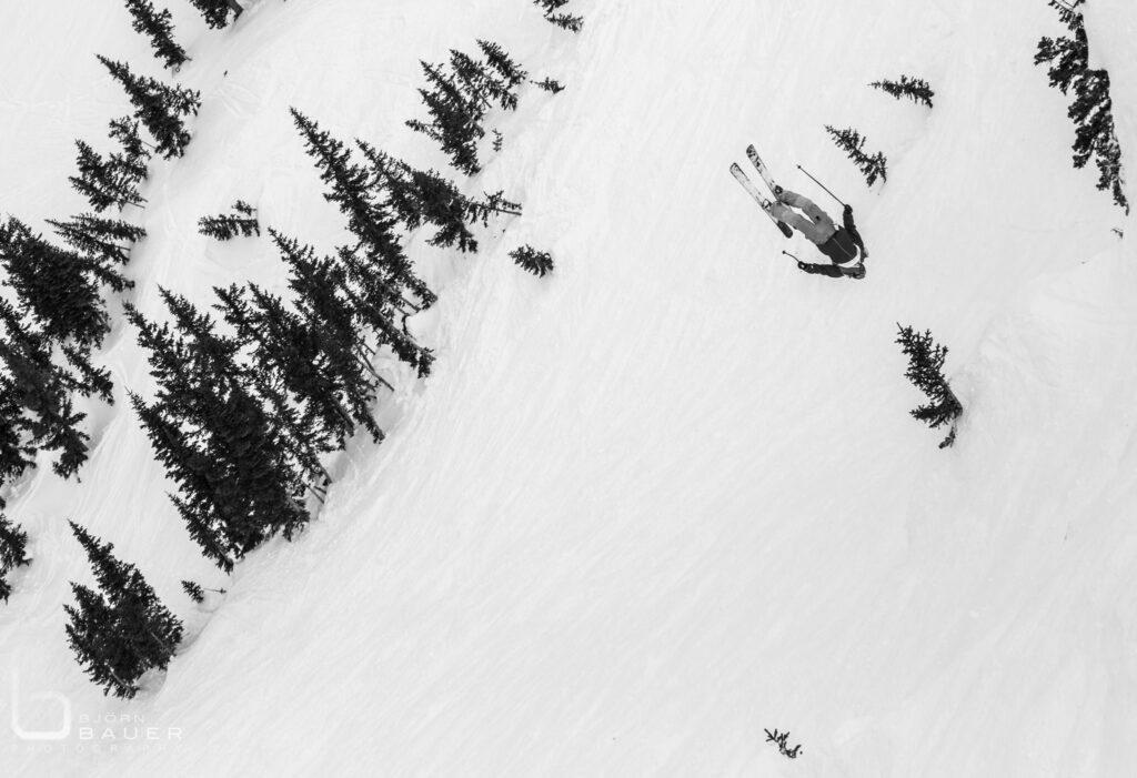 Bevan Waite Telemark Skier