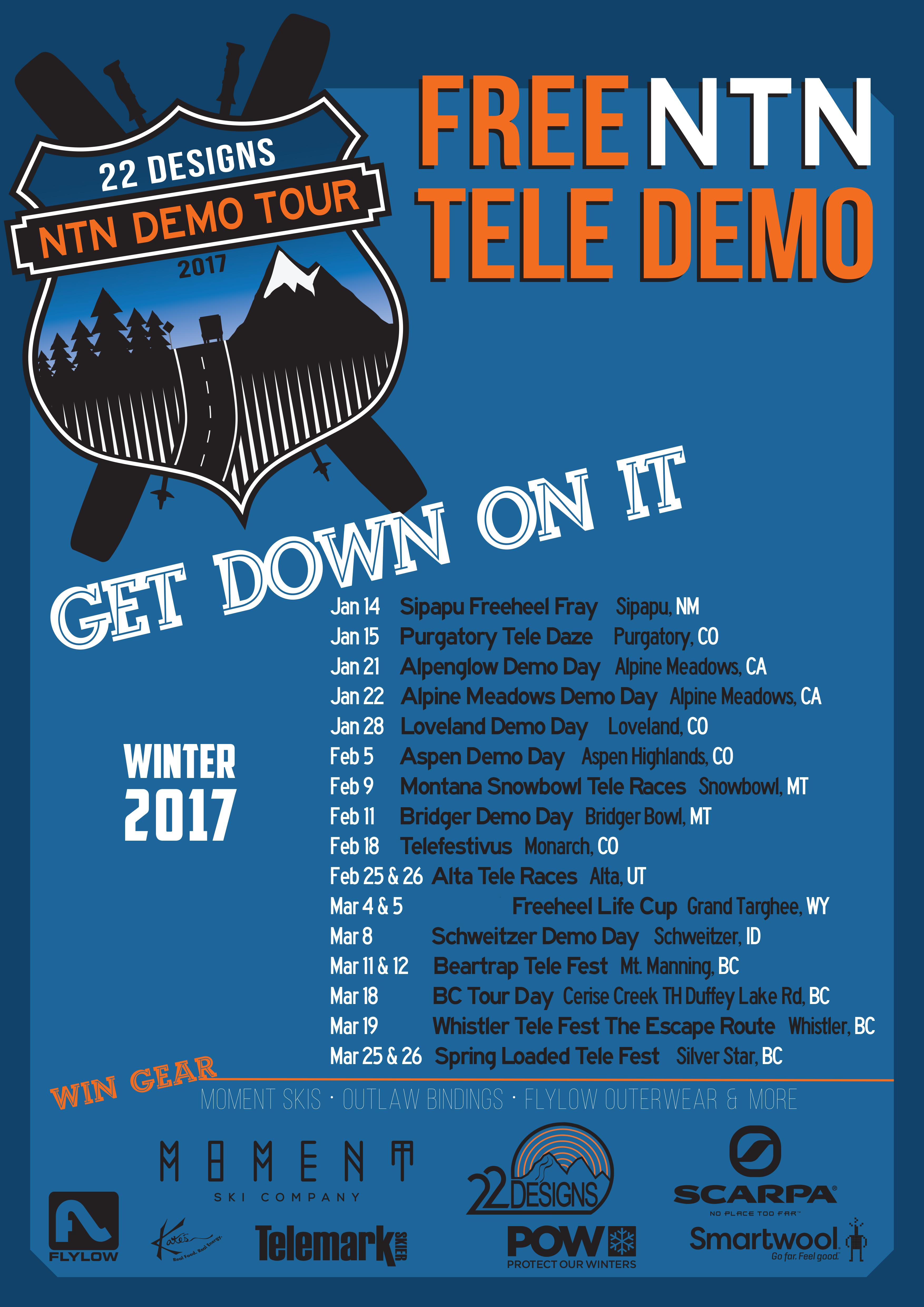 22 Designs West Coast NTN Demo Tour