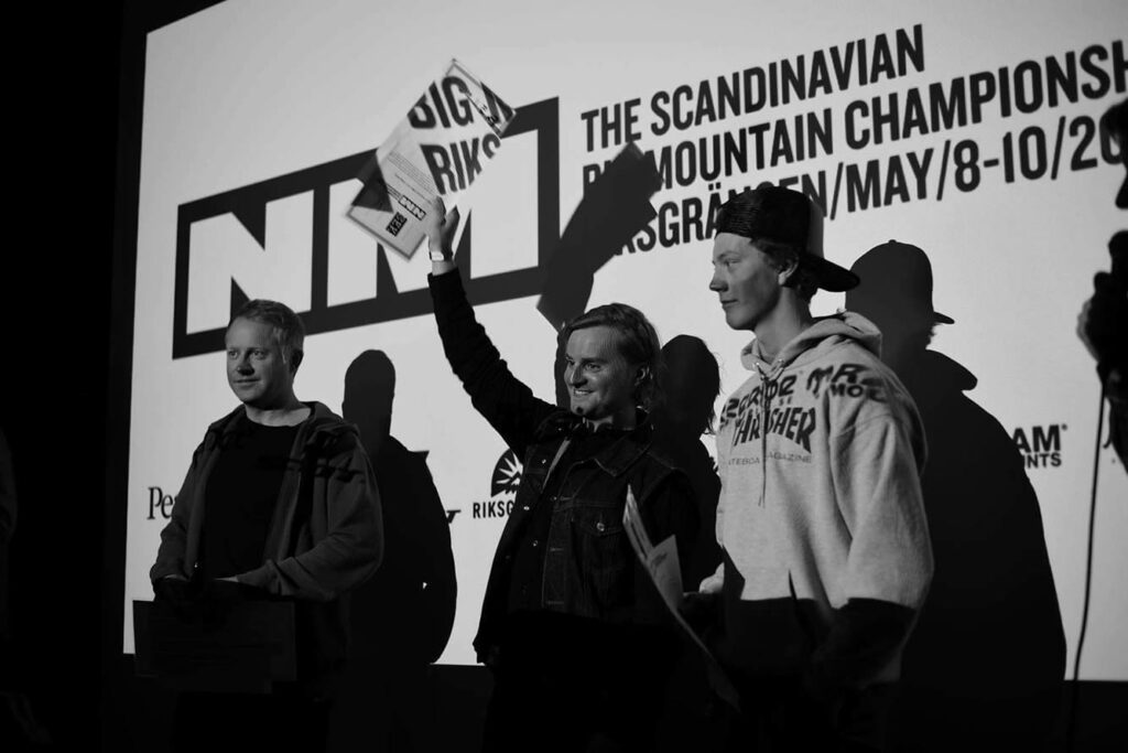 Erik Nordin Scandinavian Big Mountain Championships