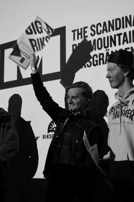 Erik Nordin Scandinavian Big Mountain Championships