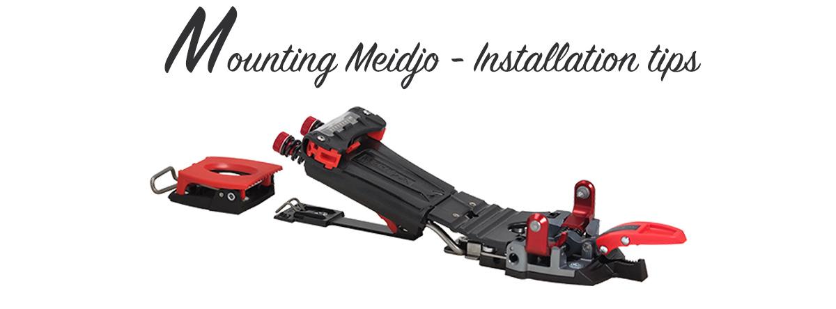 Mounting Meidjo Telemark Binding