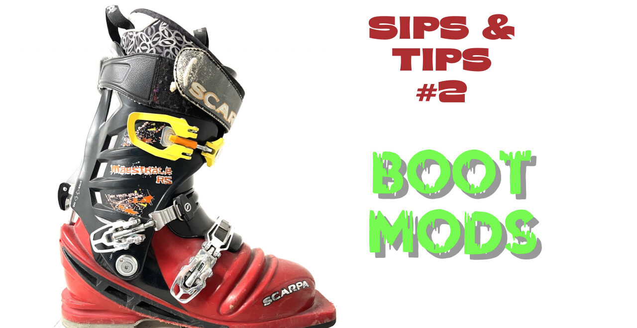 Telemark Boot Modifications
