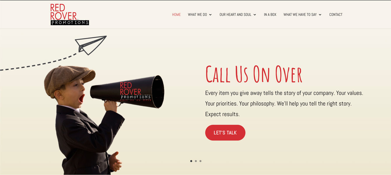 Promotional Goods Website Red Rover Promotions