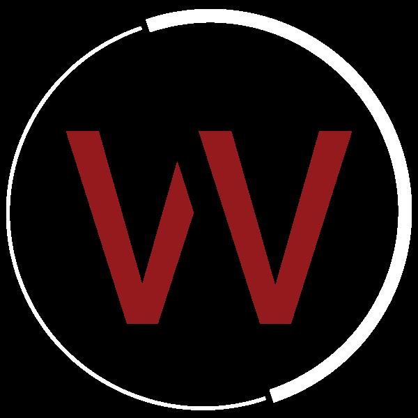 red w in white circle - Weston Graphics logo mark
