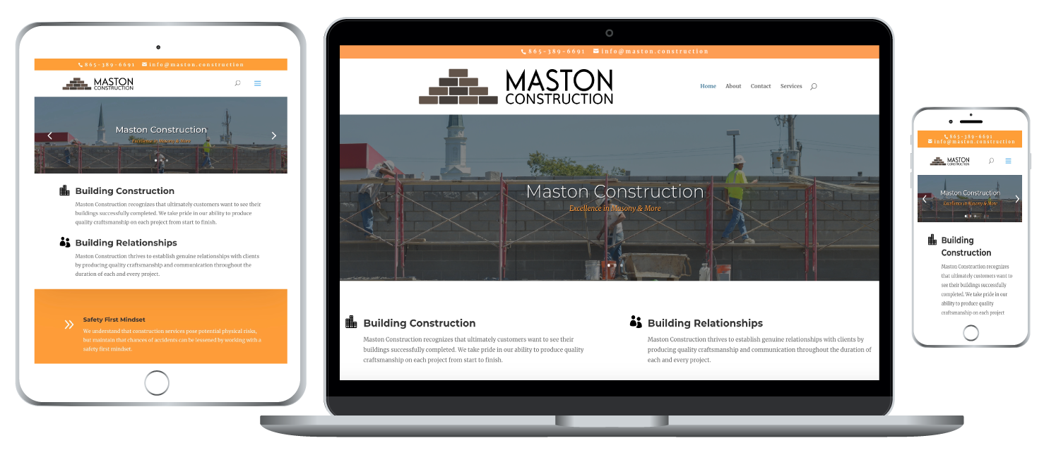 website creation for businesses