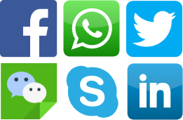 Social Media integration with contact centre