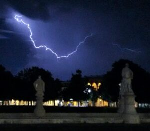 Lightning over Padova