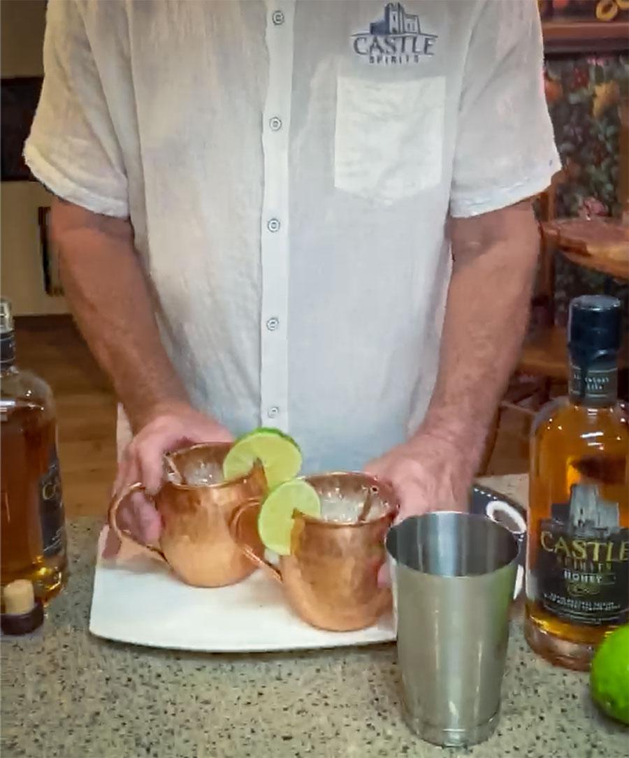Castle Mule - cocktail recipe