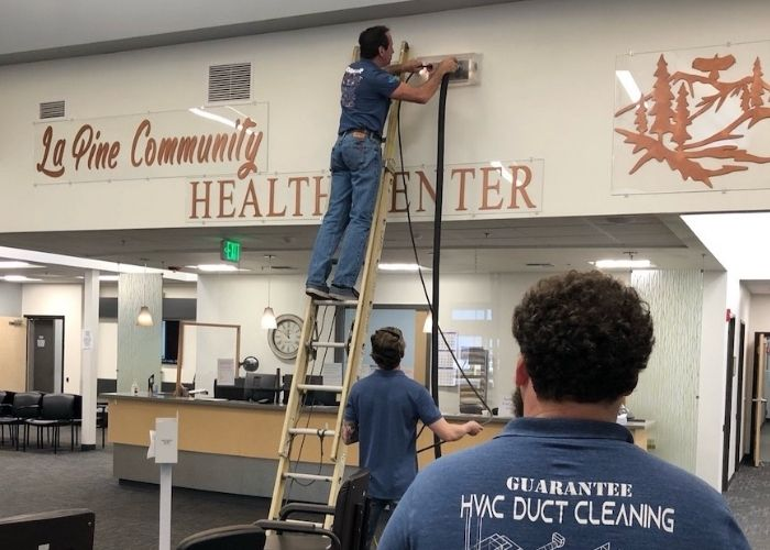 Medical Center Air Duct Cleaning