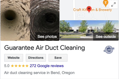 guarantee air duct cleaning reviews