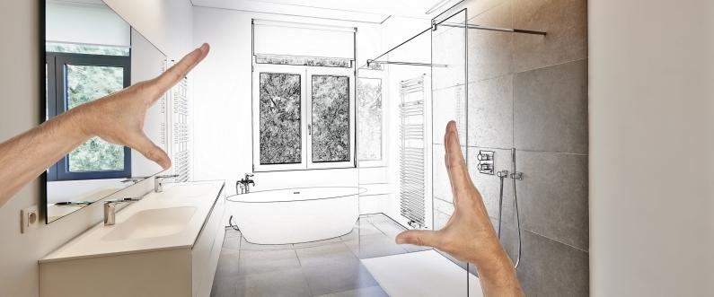 bathroom remodel in Kansas City