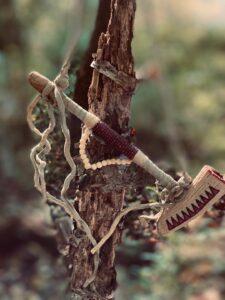 ax at Lost Indian Camp