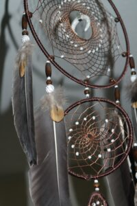 Dream catcher at Lost Indian Camp