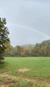 Rainbow at Lost Indian Camp
