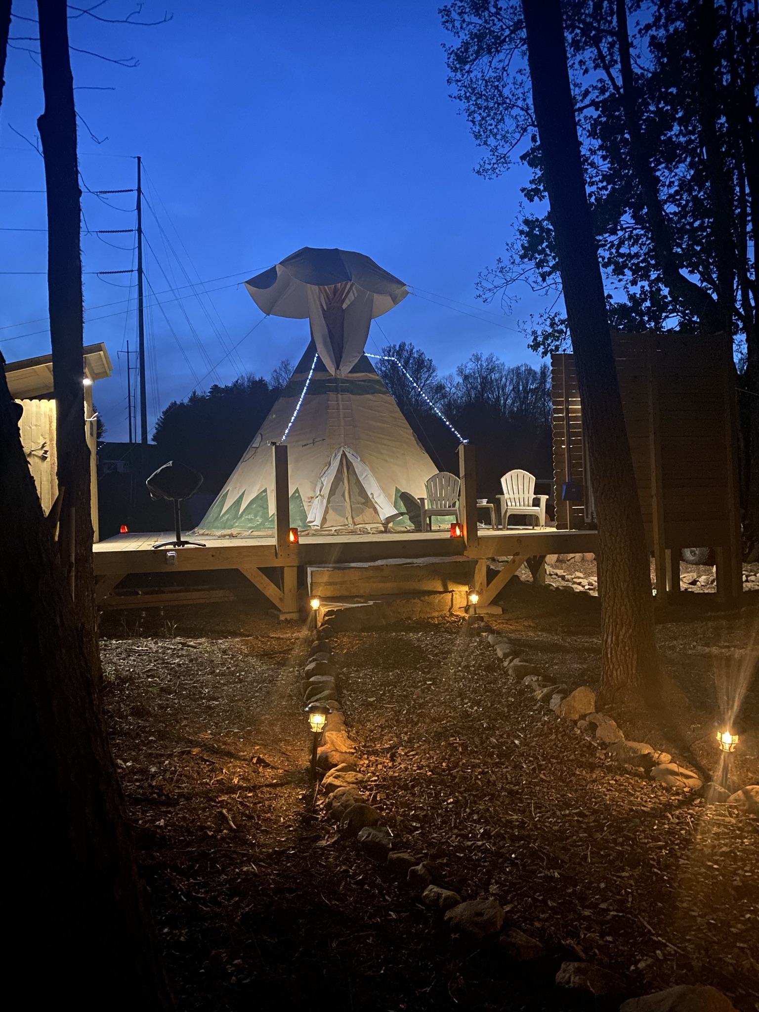 Night at Lost Indian Camp