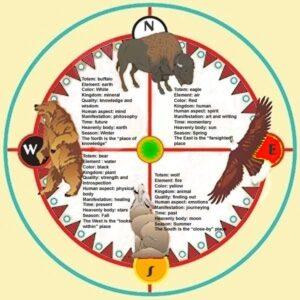Medicine Wheel at Lost Indian Camp