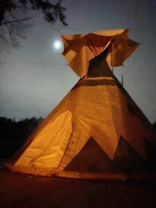 Moonlight at Lost Indian Camp