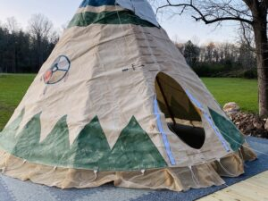 Day Tipi at Lost Indian Camp