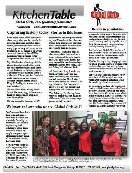 Jan-Feb 2021 Newsletter