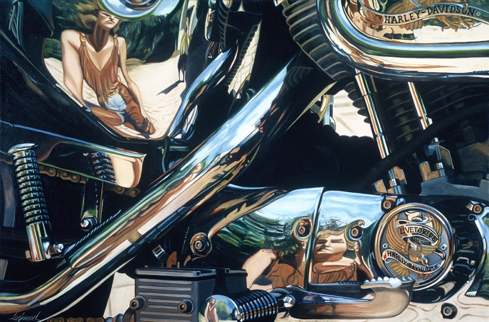 Reflections of a Biker Chick