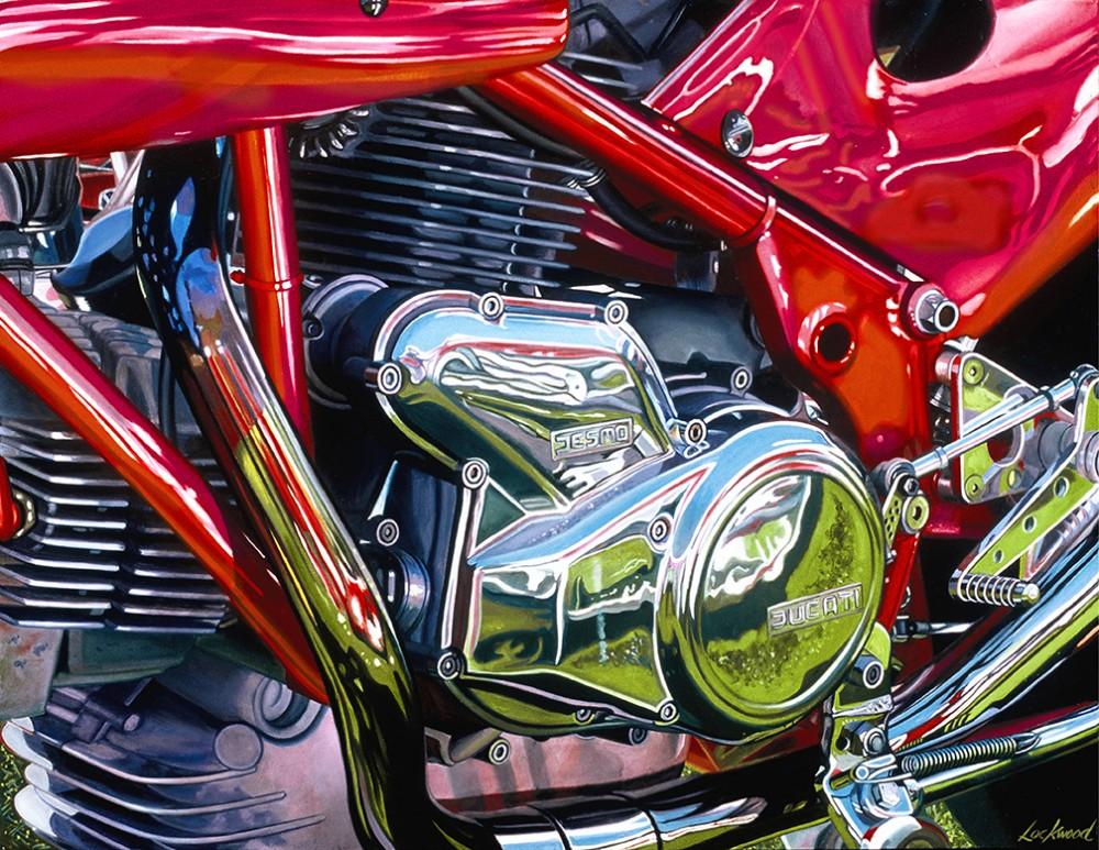 Ducati at the Corso Italiano