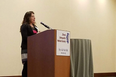 Our-first-speaker-of-the-conference---Kathleen-Vest,-PharmD-discusses-medical-management-of-menopause