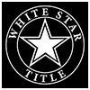 White Star Title Logo