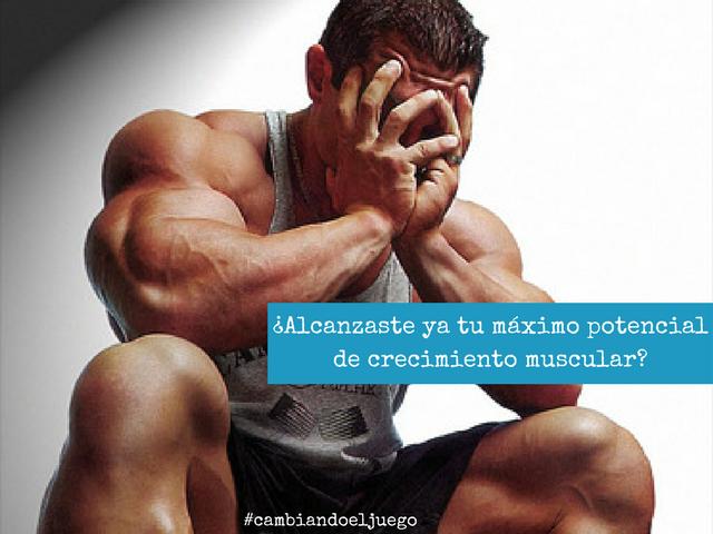 Alcanzaste ya tu maximo potencial de crecimiento muscular