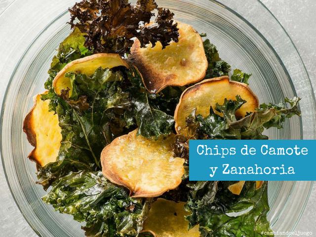 Chips de Camote y Zanahoria