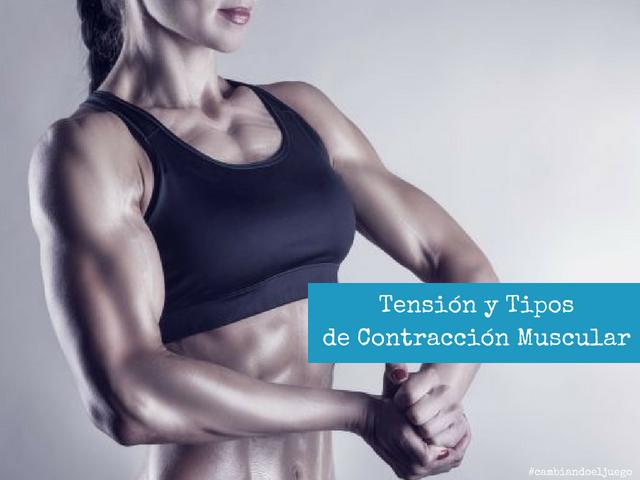Tension y Tipos de Contracción Muscular