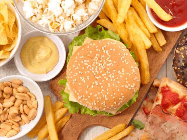 como aminorar el daño de la comida chatarra