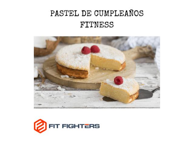 portada blog pastel de cumpleaños fitness