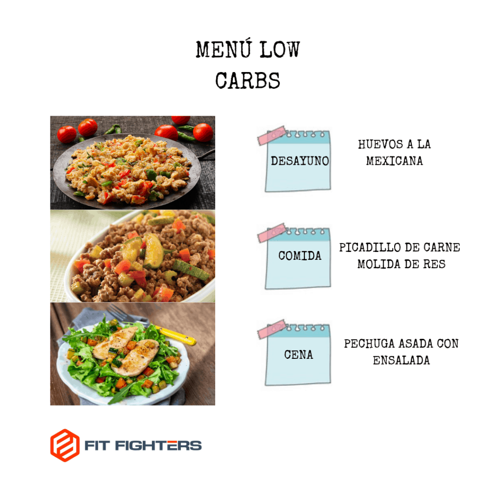 MENÚ LOW CARBS 2