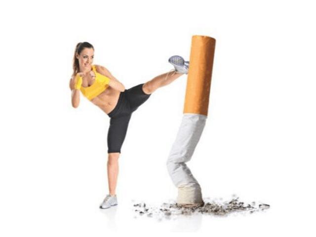 consumo de tabaco y fitness